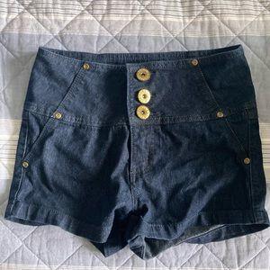 Mid-rise Retro Short-Shorts - Women's - Size 3 - UK2LA
